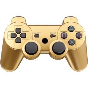 Геймпад для консоли PS3 PlayStation DualShock 3 Золотой (Gold)