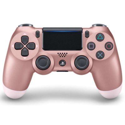 Геймпад для консоли PS4 PlayStation DualShock 4 v2 Розовое золото (Rose gold)