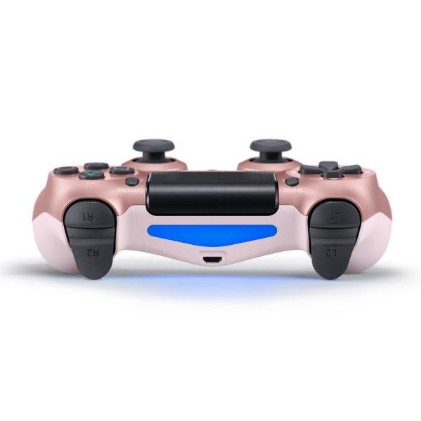 Геймпад для PS4 PlayStation DualShock 4 v2 Розовое золото Rose gold купить с доставкой по всей России