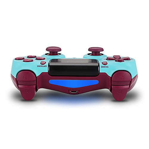Геймпад для консоли PS4 PlayStation DualShock 4 v2 Бирюзовый (Berry blue)