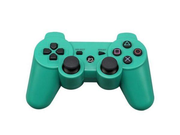 Геймпад для консоли PS3 PlayStation DualShock 3 Зеленый (Green)