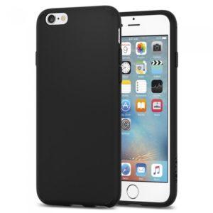 Силиконовый чехол для Apple iPhone 6/6S Черный