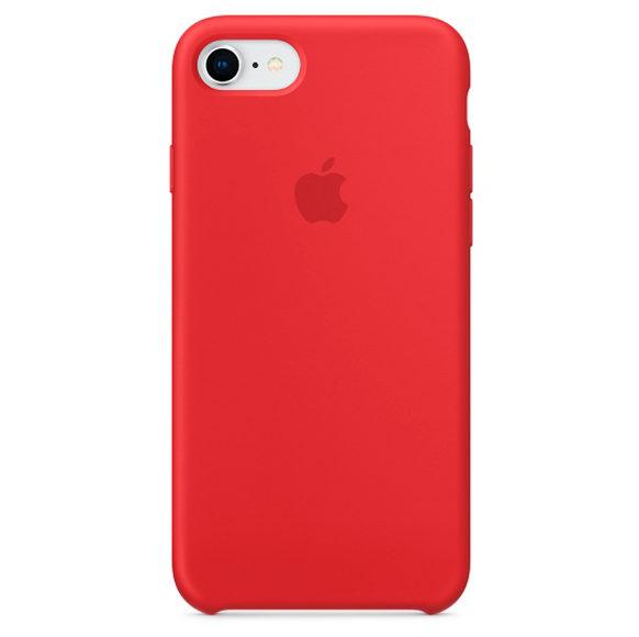 Силиконовые чехлы для Apple iPhone 6/6S Silicone Case (красный)
