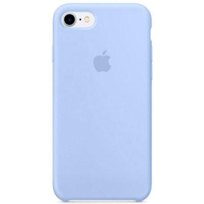 Силиконовые чехлы для Apple iPhone 7/8 Silicone Case (lilac, лиловый)