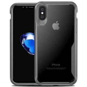 Чехлы для смартфона Apple iPhone X/XS iPaky Прозрачный с серой рамкой