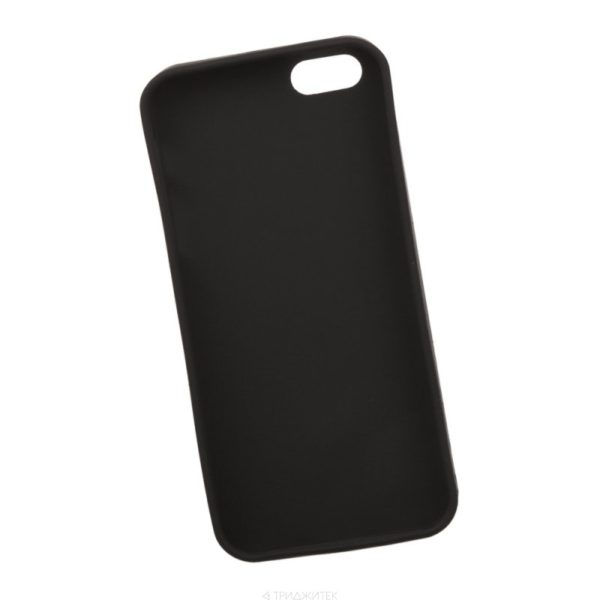 Силиконовый чехол для Apple iPhone 4S черный