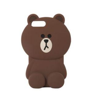 Силиконовый чехол для Apple iPhone 4S Медведь