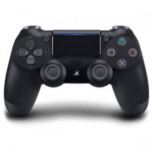 Геймпад для консоли PS4 PlayStation DualShock 4 v2 Антрацитовый черный (Black)
