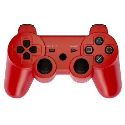 Геймпад для консоли PS3 PlayStation DualShock 3 Красный red