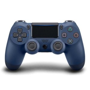 Геймпад для PS4 PlayStation DualShock 4 v2 Синяя полночь Midnight blue купить с доставкой по всей России