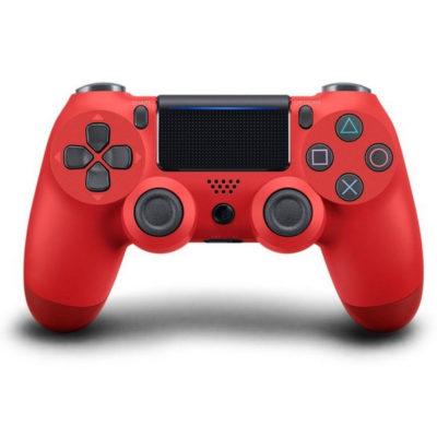 Геймпад для PS4 PlayStation DualShock 4 v2 Красная лава Magma Red купить с доставкой по всей России
