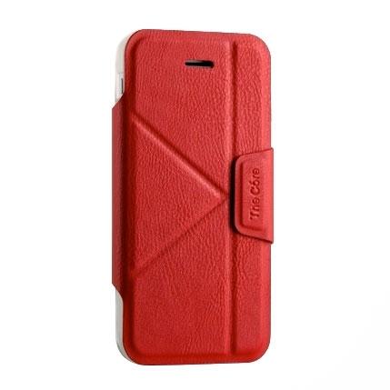 Чехол для Apple iPhone 6/6S Книжка кожа (красный)