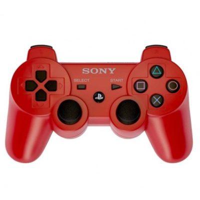 Геймпад для консоли PS3 PlayStation DualShock 3 Красный (Red)