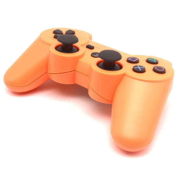 Геймпад для консоли PS3 PlayStation DualShock 3 Оранжевый (Orange)