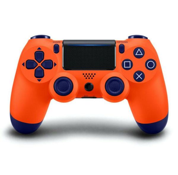 Геймпад для PS4 PlayStation DualShock 4 v2 Оранжевый закат Orange Sunset купить с доставкой по всей России