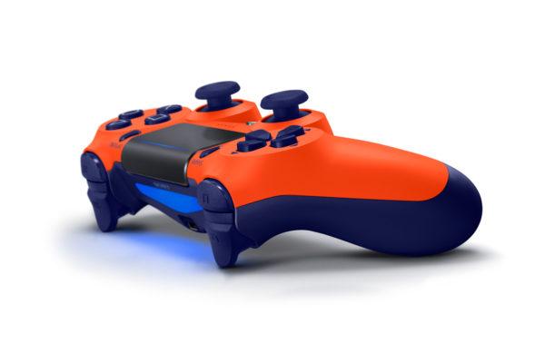 Геймпад для консоли PS4 PlayStation DualShock 4 v2 Оранжевый закат (Orange Sunset)