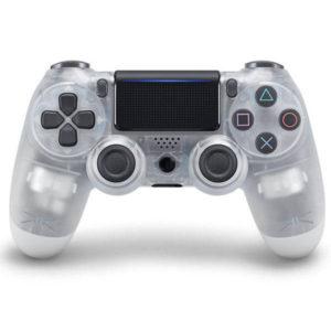 Геймпад для PS4 PlayStation DualShock 4 v2 Прозрачный Crystal купить с доставкой по всей России