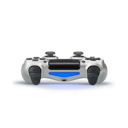 Геймпад для PS4 PlayStation DualShock 4 v2 Серебро Silver купить с доставкой по всей России