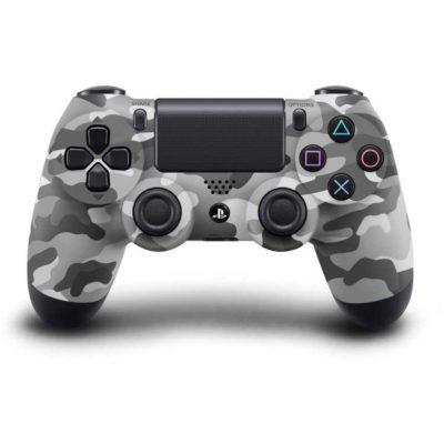 Геймпад для консоли PS4 PlayStation DualShock 4 v2 Серый камуфляж (Camouflage gray)