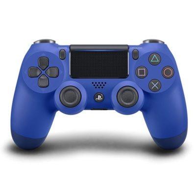 Геймпад для консоли PS4 PlayStation DualShock 4 v2 Синяя волна (Wave blue)