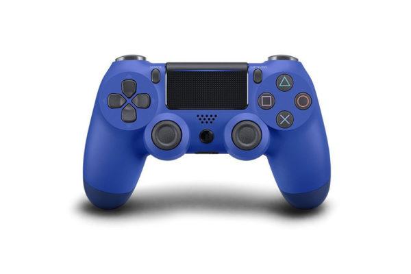 Геймпад для PS4 PlayStation DualShock 4 v2 Синяя волна, голубой Wave blue купить с доставкой по всей России