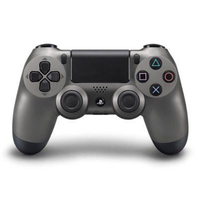 Геймпад для консоли PS4 PlayStation DualShock 4 v2 Черный стальной (Steel black)