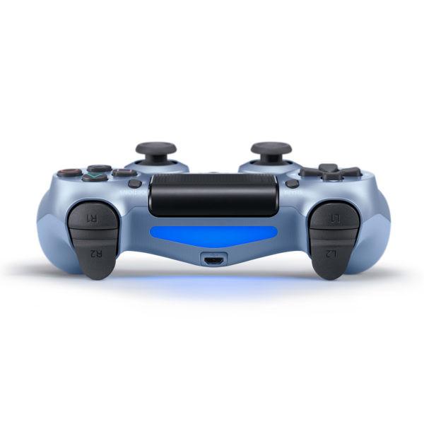 Геймпад для PS4 PlayStation DualShock 4 v2 Титановый синий Titanium blue купить с доставкой по всей России