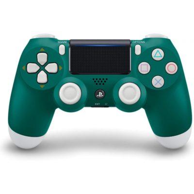 Геймпад для консоли PS4 PlayStation DualShock 4 v2 Альпийский зелёный (Alpine green)