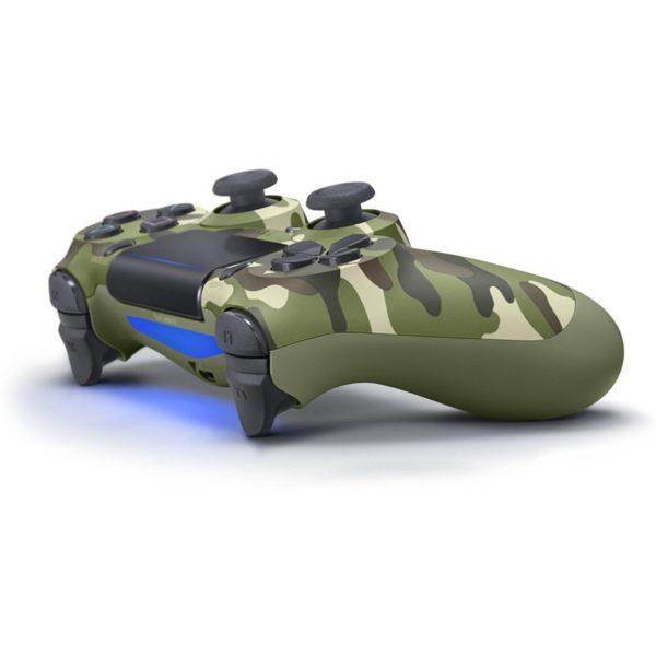 Геймпад для консоли PS4 PlayStation DualShock 4 v2 Зеленый камуфляж (Camouflage green)