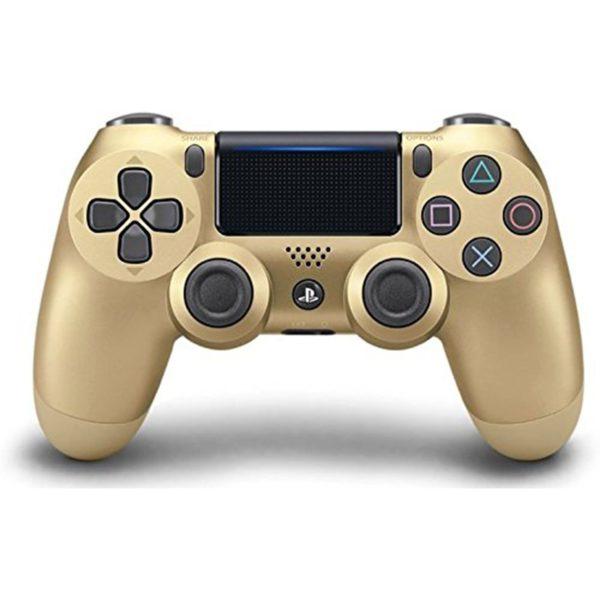 Геймпад для консоли PS4 PlayStation DualShock 4 v2 Золото (Gold)