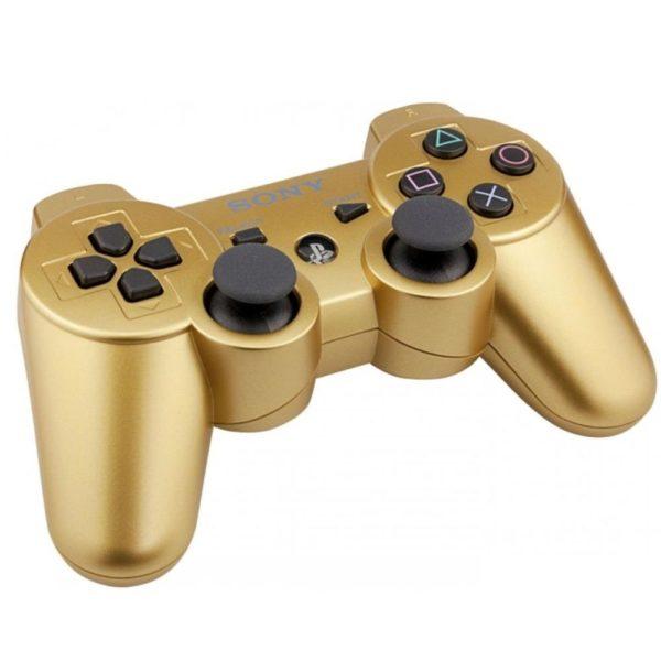 Геймпад для консоли PS3 PlayStation DualShock 3 Золото (Gold)
