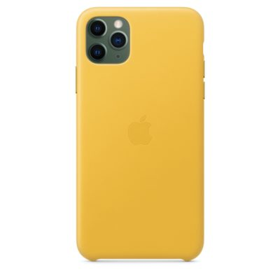 Apple чехол для iPhone 11 Pro Silicone Case (yellow, желтый)