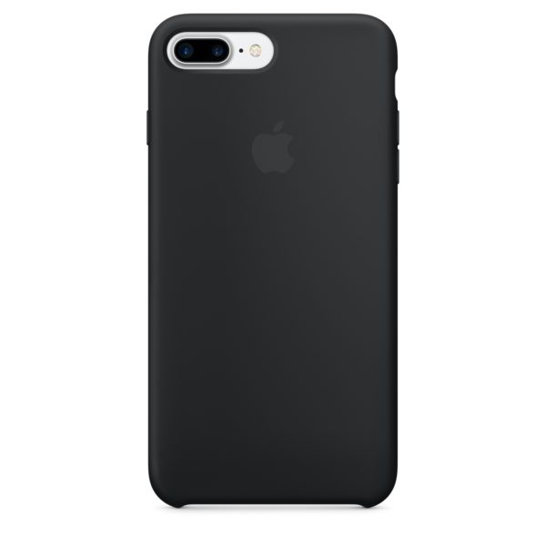 Apple чехол для iPhone 7/8 Plus Silicone Case (black, черный)