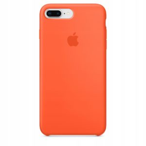 Apple чехол для iPhone 7/8 Plus Silicone Case (spicy orange, оранжевый)