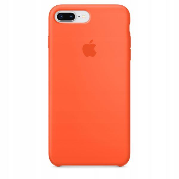 Apple чехол для iPhone 7/8 Plus Silicone Case (spicy orange, оранжевый)