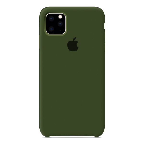 Apple чехол для iPhone 11 Pro Dark virid (темно-зеленый)