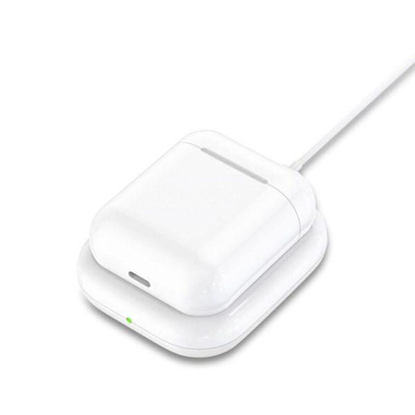 Беспроводная зарядка Qi (Док-станция) для наушников и смартфонов