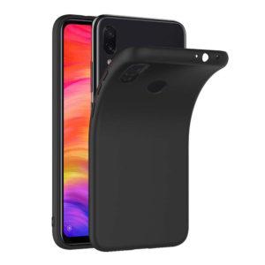 Силиконовые чехлы для смартфна Xiaomi Redmi Note 7 Черный