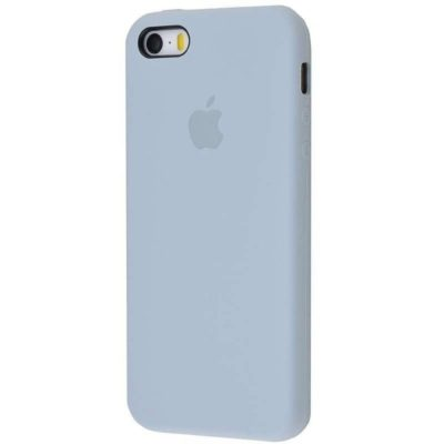 Apple чехол для смартфона iPhone 5/5S/SE Silicone Case (cornflower, голубой)