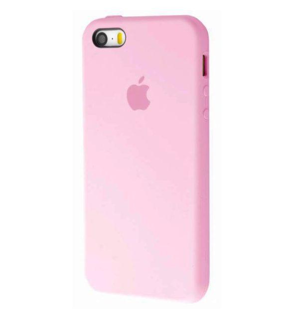 Apple чехол для смартфона iPhone 5/5S/SE Silicone Case (pink sand, розовый)