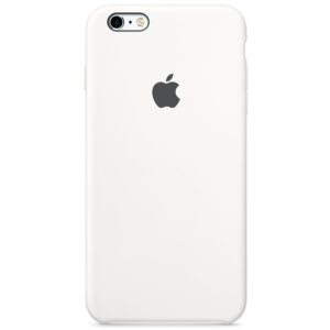 Apple чехол для iPhone 6/6S Silicone Case (white, белый)