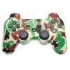 Геймпад для консоли PS3 PlayStation DualShock 3 Зеленый камуфляж (Camouflage green)