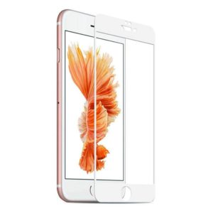 Защитное закаленное стекло для Apple iPhone 7/8 с рамкой (белое)