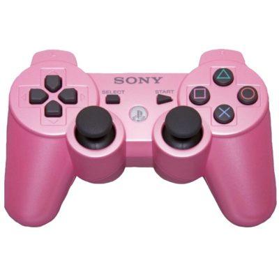 Геймпад для консоли PS3 PlayStation DualShock 3 Розовый (Pink)