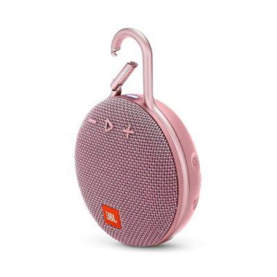 Портативная колонка JBL Clip 3 Pink (Розовый)