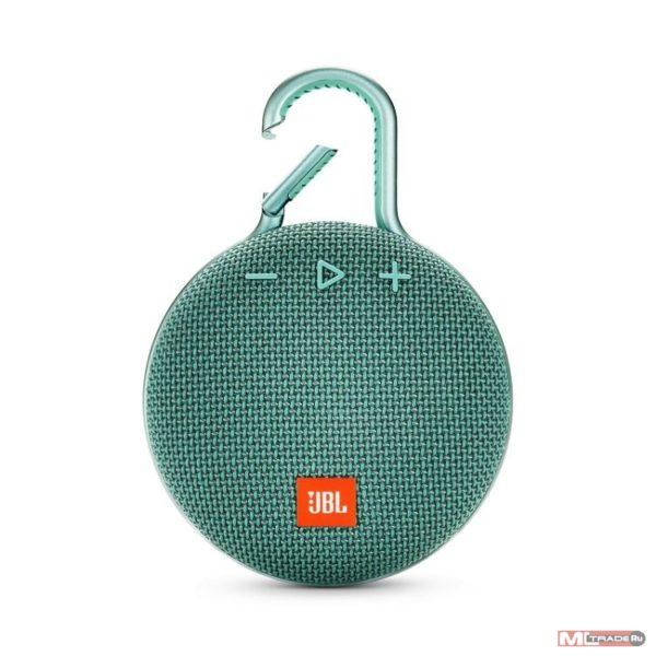 Портативная колонка JBL Clip 3 Green (Зеленый)