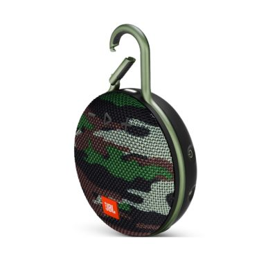 Портативная колонка JBL Clip 3 Green camouflage (Зеленый камуфляж)