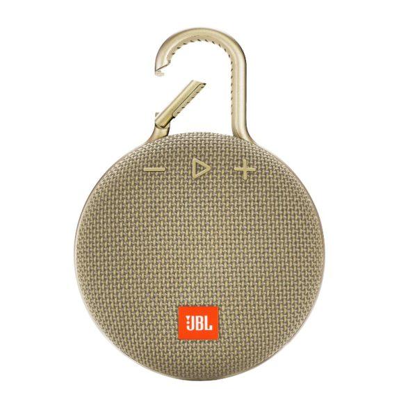 Портативная колонка JBL Clip 3 Gold (Золотой)