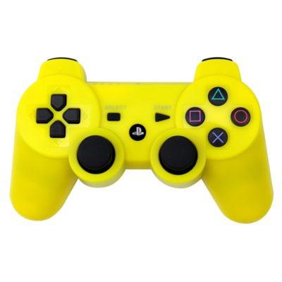 Геймпад для консоли PS3 PlayStation DualShock 3 Желтый (Yellow)