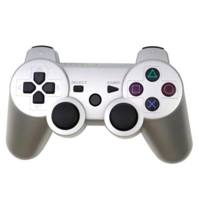 Геймпад для консоли PS3 PlayStation DualShock 3 Серебряный (Silver)